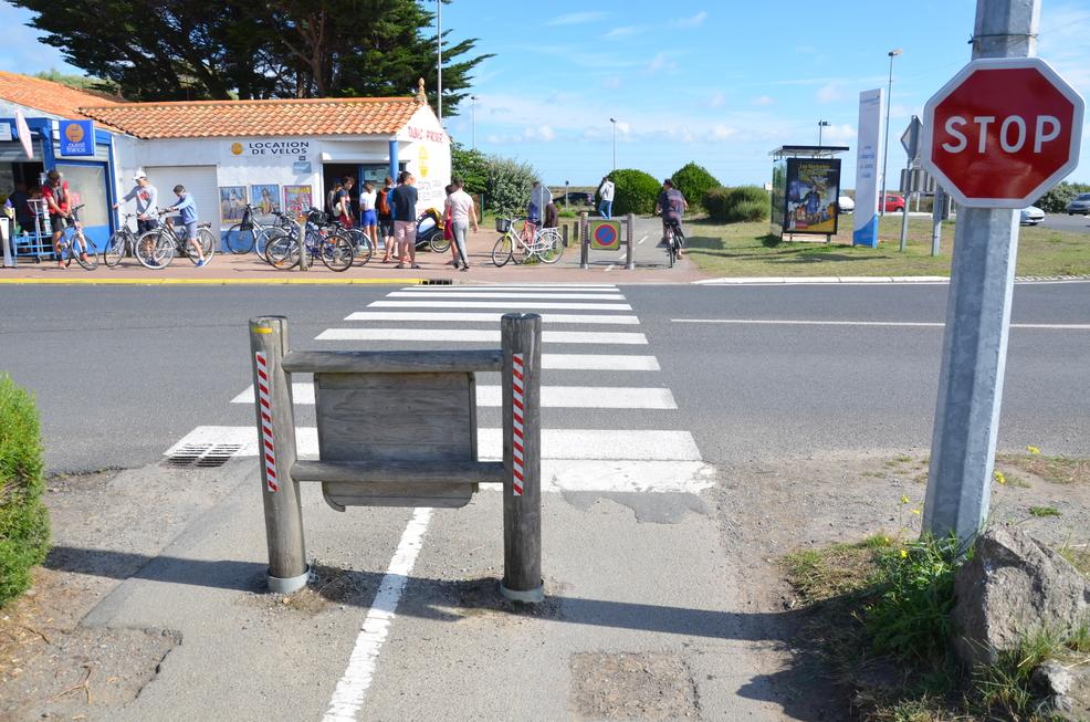 Jeanne à Noirmoutier –du côté du Bonhomme