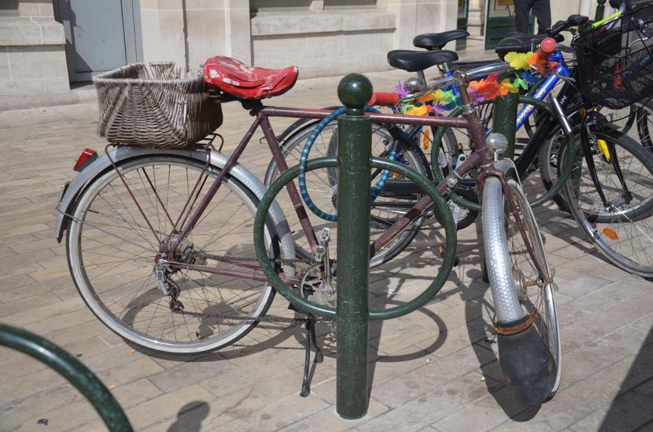 Du vélo dans le participatif